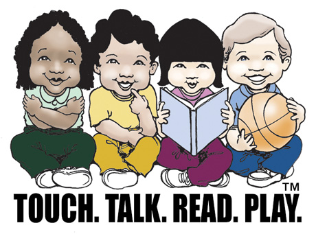 Touch. Talk. Read. Play.