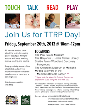Join us for TTRP Day!