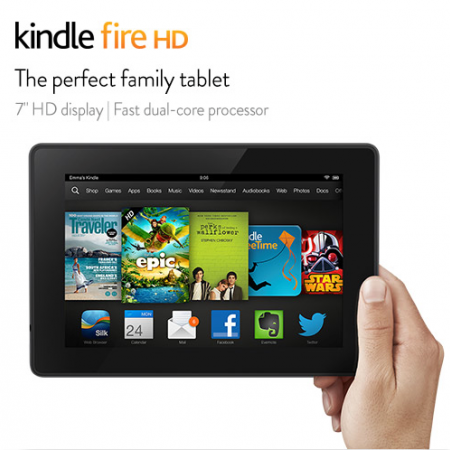 You could win this Kindle Fire HD!